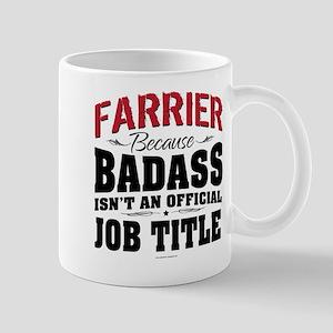 Badass Farrier Mugs