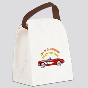 Vintage Convertible Canvas Lunch Bag