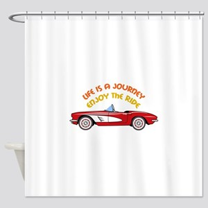 Vintage Convertible Shower Curtain