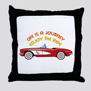 Vintage Convertible Throw Pillow