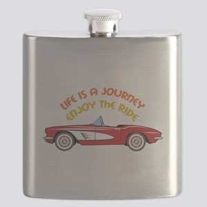 Vintage Convertible Flask