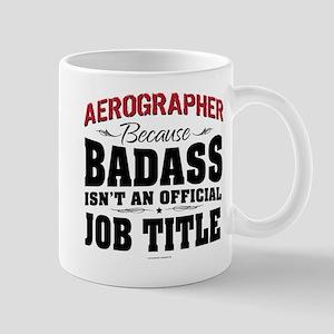 Aerographer Badass Mugs