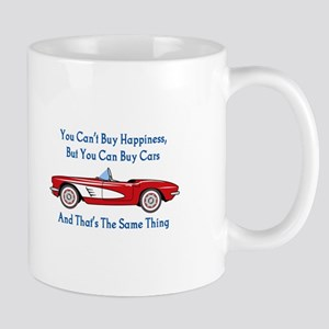 Buy Cars, Buy Happiness Mugs