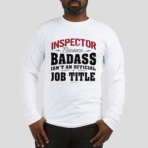 Badass Inspector Long Sleeve T-Shirt