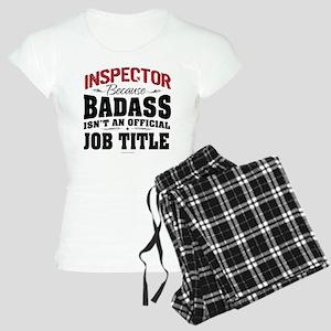 Badass Inspector Women's Light Pajamas