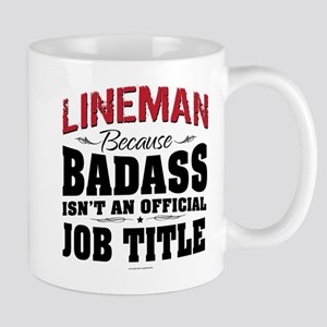 Badass Lineman Mugs