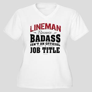Badass Lineman Plus Size T-Shirt