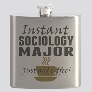 Instant Sociology Major Just Add Coffee Flask