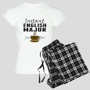 Instant English Major Just Add Coffee Pajamas