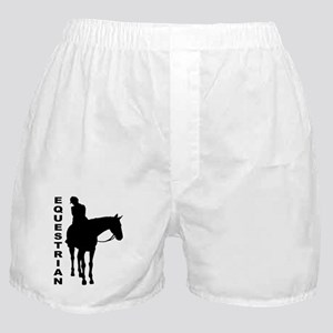 Equestrian One w/ Text Boxer Shorts