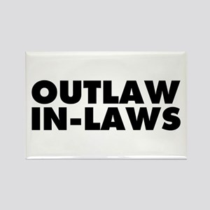 Outlaw In-Laws Rectangle Magnet