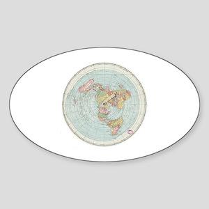 Flat Earth / Gleason's Sticker