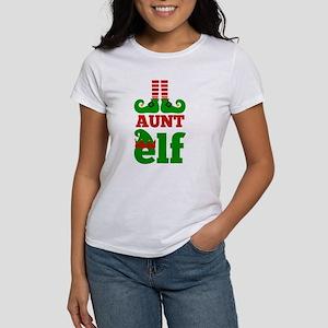 Aunt Elf Christmas T-Shirt