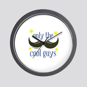The Cool Guys Wall Clock