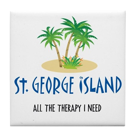 St. George Therapy - Tile Coaster