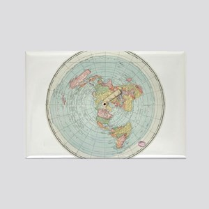Flat Earth /Gleason's Map 1892 Magnets