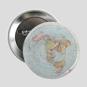 "2.25"" Button / Gleason's 1892 Flat Earth"