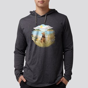 Rowboat - Airedale 1 Mens Hooded Shirt