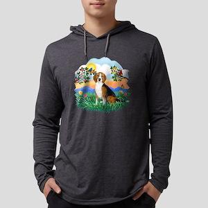 Bright Life - Beagle 4 Mens Hooded Shirt