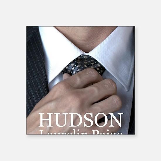 """Unique Hudson Square Sticker 3"""" x 3"""""""