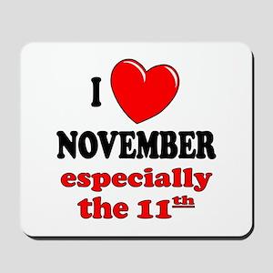 November 11th Mousepad