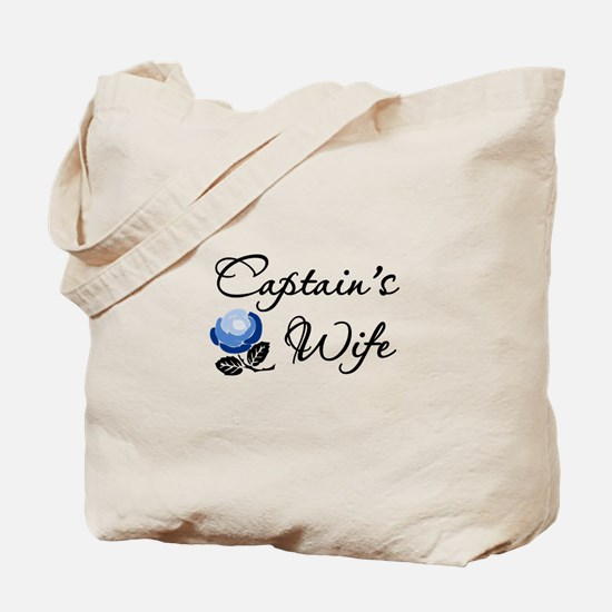 Captain's Wife Tote Bag