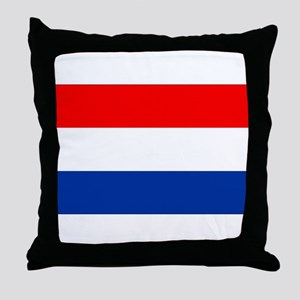 Dutch (Netherlands) Flag Throw Pillow