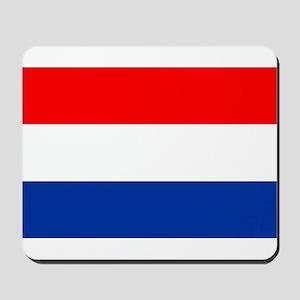 Dutch (Netherlands) Flag Mousepad