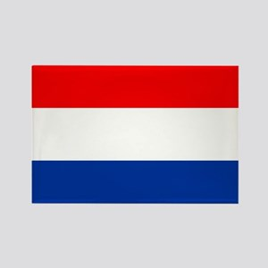 Dutch (Netherlands) Flag Rectangle Magnet