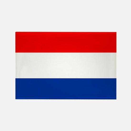 Dutch (Netherlands) Flag Rectangle Magnet