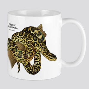 Yellow Anaconda Mug