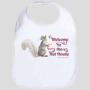 Squirrel Nut House Bib