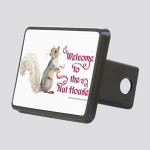 Squirrel Nut House Rectangular Hitch Cover