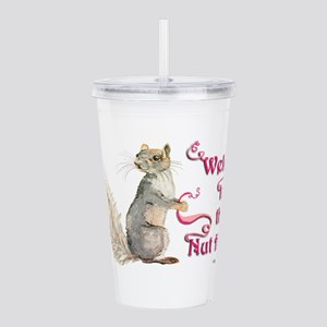 Squirrel Nut House Acrylic Double-wall Tumbler