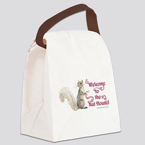 Squirrel Nut House Canvas Lunch Bag