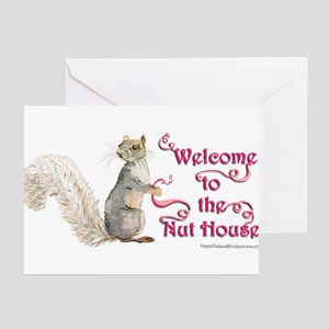 Squirrel Nut House Greeting Cards (Pk of 20)