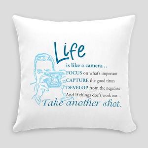 Camera Everyday Pillow