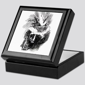 Skunk Little Stinker Keepsake Box