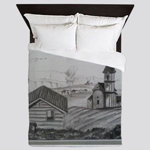PEACE IN THE VALLEY SERIES Queen Duvet