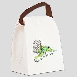 Carmel Sea Otter Canvas Lunch Bag