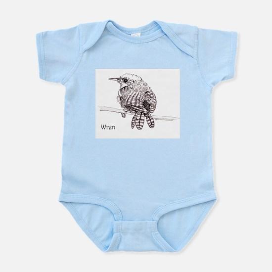 Little Brown Wren Infant Bodysuit