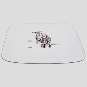 Little Brown Wren Bathmat