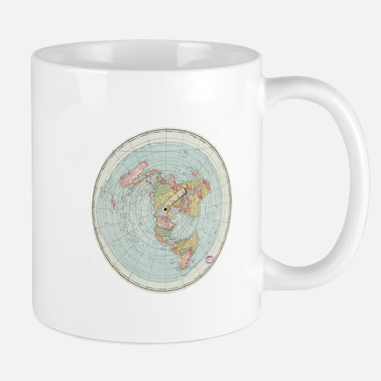 Flat Earth /Gleason's Map 1892 Mugs