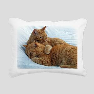 Brotherly Love Rectangular Canvas Pillow