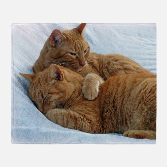 Brotherly Love Throw Blanket