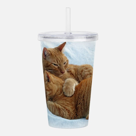 Brotherly Love Acrylic Double-wall Tumbler