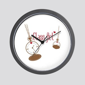 Class Act Watch Wall Clock