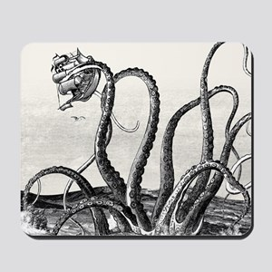 Kraken Attack Mousepad