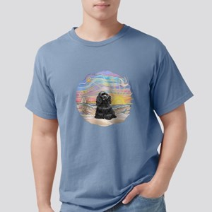 OceanSunrise-BlackCocker Mens Comfort Colors S