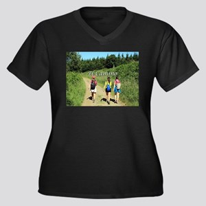 Walkers, El Camino, Spain 2 Plus Size T-Shirt